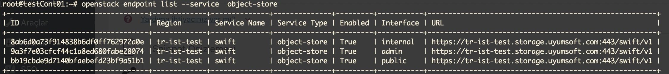 OpenStack ile Ceph Object Storage Entegrasyonu - Hüseyin ÇOTUK